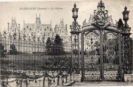 FLIXECOURT - Le Chateau - Cachet Militaire 295° Rgt Terr. D' Infanterie - 2° Bataillon (111337) - Flixecourt