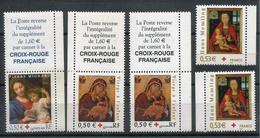 Croix Rouge  2003, 2004 Et 2005 - Y&T 3620, 3717 Et 3840- Neufs ** - Nuevos