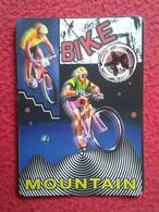SPAIN CALENDARIO DE BOLSILLO CALENDAR 1998 MOUNTAIN BIKE BICI DE MONTAÑA PUBLICIDAD HOGUERA SAN BLAS BICICLETA BICYCLE - Tamaño Pequeño : 1991-00