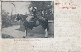 Gruss Aus DARMSTADT , Germany , 1901 ; Princess Elizabeth Von Hellen - Familles Royales