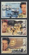 °°° HONG KONG - Y&T N°674/76 - 1992 °°° - 1997-... Speciale Bestuurlijke Regio Van China