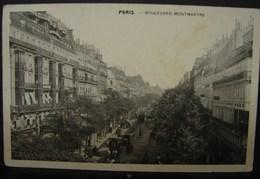 JL. 54. Paris. Boulevard Montmartre. - Places, Squares