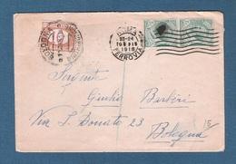 ITALIA REGNO - STORIA POSTALE - Busta Viaggiata Il 9/11/1918 - In Buone Condizioni. - 1900-44 Vittorio Emanuele III