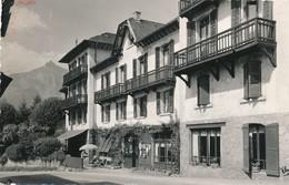 CP - France - (74) Haute Savoie - Saint-Gervais-les-Bains - Hôtel-Restaurant - Le Home Savoyard - Saint-Gervais-les-Bains