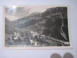 CPA 38  VAUJANY - Vue Générale , Cascade De La Fare En Les Rousses 1938 T.B.E. - Non Classificati