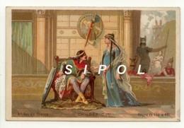 """Image Série   """" Rois De France """" Non Publicitaire """" Childéric 1er   4 ème Roi De France ( 458 - 481 ) - Chocolat"""