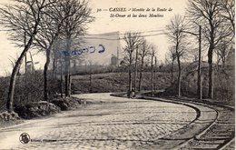 CASSEL - Montée De La Route De St Omer Et Les Deux Moulins - Cassel