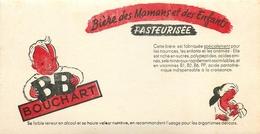Buvard Ancien BIERE BOUCHART - BIERE DES MAMANS PASTEURISEE - Liqueur & Bière