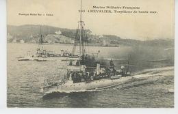 """BATEAUX - GUERRE - Le """"CHEVALIER """" - Torpilleur De Haute Mer - Guerra"""