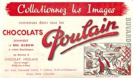 Buvard Ancien CHOCOLAT POULAIN -BLOIS - Chocolat