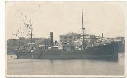 """BRISBANE - Bateau - Carte Photo Du Vapeur """"Breiz Izel"""" Envoyée à Son Capitaine - Brisbane"""