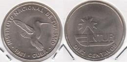 Cuba 10 Centavos 1981 (no 10) KM#414 - Used - Cuba
