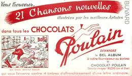 Buvard Ancien CHOCOLAT POULAIN - BLOIS - Cocoa & Chocolat