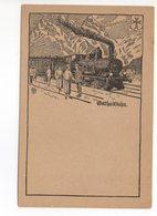 GOTTHARD-BAHN Dampflokomotive - UR Uri