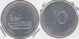 Cuba 10 Centavos 1988 KM#416 - Used - Cuba