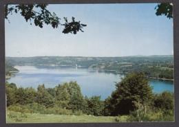 100030/ BORT-LES-ORGUES, Les Aubazines, Panorama Vu De *La Terrasse*, Lac Du Barrage De Bort Et Le Château De Val - Autres Communes