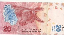 ARGENTINE 20 PESOS ND2017 UNC P 361 - Argentine