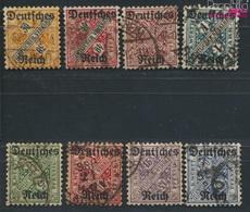 Allemand Empire D57-d64 (complète.Edition.) Testés Est No.d64 Oblitéré 1920 Württemberg édition (9264971 (9264971 - Germania