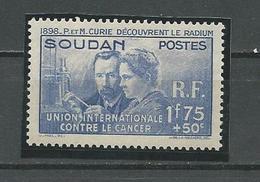 SOUDAN FRANCAIS Scott B1 Yvert 99 (1) ** 14,00 $ 1938 - Neufs