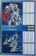 Calendrier Du Facteur La Poste Ptt Année 2006 ISERE Thème Voiliers - Calendriers