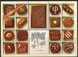 """Vignette """"Le Carré D'Encre 2009"""" - Le Chocolat - Documents De La Poste"""
