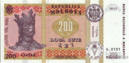 Moldavie 200 Lei (P16) 2013 -UNC- - Moldavie
