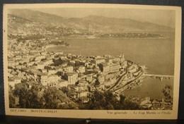 JL. 65. Monte-Carlo. Vue Générale. Le Cap Martin Et L'Italie. - Monte-Carlo