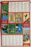 Calendrier Du Facteur La Poste Ptt Année 2003 ISERE Thème Details De Jardins - Calendriers