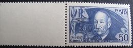 DF50500/54 - 1938 - CLEMENT ADER N°398 NEUF** BdF - BON CENTRAGE - Cote : 180,00 € - France