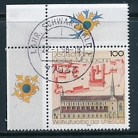GERMANY Mi. Nr. 1966 UNESCO-Welterbe  -Kloster Maulbronn - Eckrand Oben Links - Used - [7] République Fédérale