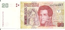ARGENTINE 20 PESOS ND2015 UNC P 355 - Argentine