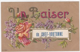 Deux-Sèvres - Un Baiser De Chef-Boutonne - Chef Boutonne