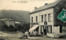 """Olly - Illy - Ardennes - Bureau Des Douanes - Attelage à Chien ? Thème Douane Douanier - """" Restaurant Des Promeneurs """" - Frankrijk"""