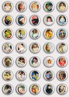 35 X Mary Cassatt Painting Fan ART BADGE BUTTON PIN SET 3 (1inch/25mm Diameter) - Badges