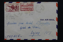 GUYANE - Enveloppe De Cayenne Pour Lyon En 1948 - L 21676 - Guyane Française (1886-1949)