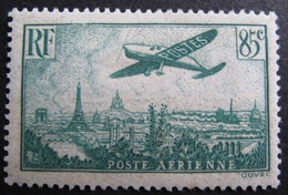 DF50500/57 - POSTE AERIENNE - AVION SURVOLANT PARIS - N°8 NEUF* - Airmail