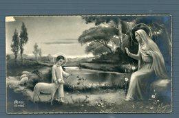 °°° Santino - Ricordo Della Prima Comunione E Cresima Natale 1932 °°° - Religion &  Esoterik