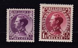 Belgie COB* 391-393 - Belgique