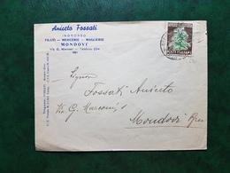 (14599) STORIA POSTALE ITALIA 1951 - 1946-60: Marcophilia