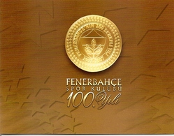 TURKEY, 2007, Booklet 16,  100 Years Fenerbahce, Mi MH2 - 1921-... Republiek