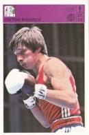 VIKTOR RIBAKOV,SVIJET SPORTA CARD - Boxing
