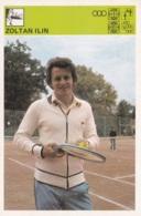 ZOLTAN ILIN,SVIJET SPORTA CARD - Tennis