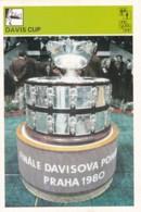 DAVIS CUP TROPHY,SVIJET SPORTA CARD - Tennis