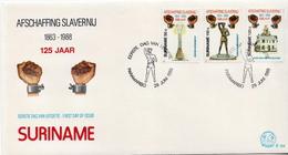 Surinam Set On FDC - Surinam