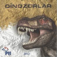 TURKEY, 2012, Booklet A, Dinsoaurs Booklet - 1921-... Republiek