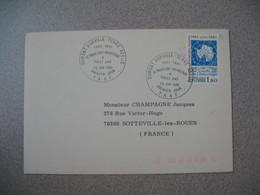 TAAF Lettre  Dumont D'Urville - Terre Adélie   N° 91  Du 23/6/1981  Pour La France  Traité Sur L'Antarctique - French Southern And Antarctic Territories (TAAF)