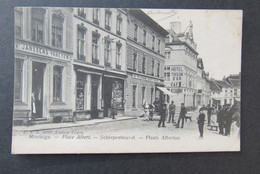 Cpa/pk Montaigu Scherpenheuvel Place Albert Plaats Albertus 1906 - Scherpenheuvel-Zichem