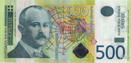 Serbie 500 Dinara (P51) 2011 -UNC- - Serbie