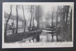 Cpa/pk Montaigu Scherpenheuvel Rue Du Moulin (Anciens Fossés) - Scherpenheuvel-Zichem