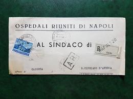(14618) STORIA POSTALE ITALIA 1954 - 6. 1946-.. Repubblica
